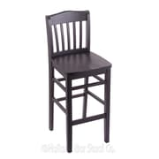 Holland Bar Stool 30'' Bar Stool; Black