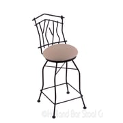 Holland Bar Stool Aspen 25'' Swivel Bar Stool with Cushion; Rein Thatch