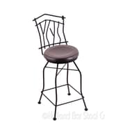 Holland Bar Stool Aspen 30'' Swivel Bar Stool; Dark Cherry Maple