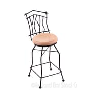 Holland Bar Stool Aspen 30'' Swivel Bar Stool; Natural Oak