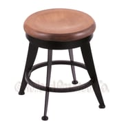 Holland Bar Stool Laser Swivel Vanity Stool; Medium Maple