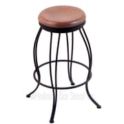 Holland Bar Stool Georgian 30'' Swivel Bar Stool; Medium Oak
