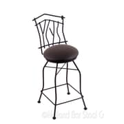 Holland Bar Stool Aspen 30'' Swivel Bar Stool with Cushion; Allante Espresso