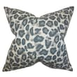 The Pillow Collection Galatea Animal Print Cotton Throw Pillow; 18'' x 18''