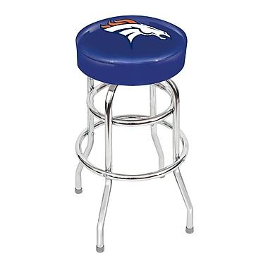 Imperial NFL Team Logo 30'' Swivel Barstool; Denver Broncos