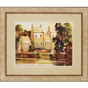 Paragon Steps to the Manor Landscapes by Goerschner Framed Painting Print