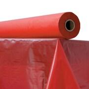 ATLANTIS PLASTICS Table Cover, Red