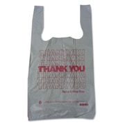 "BARNES PAPER CO. High Density Shopping Bags, 19"" x 10"""