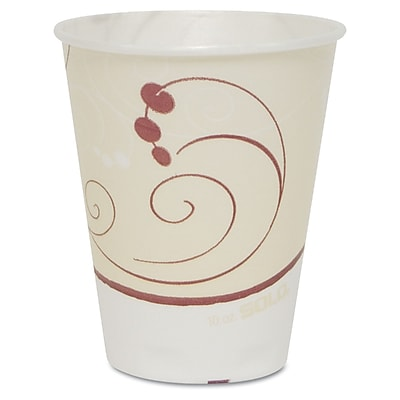 SOLO CUP COMPANY Foam Hot & Cold Drink Cups 10 Oz. 1524409
