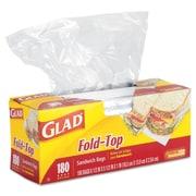 CLOROX PROFESSIONAL PROD Glad Fold Top Sandwich Bags