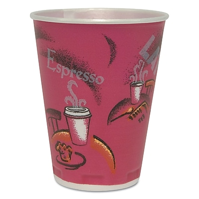 SOLO CUP COMPANY Insulated Thin-Wall Foam Cups 1524288