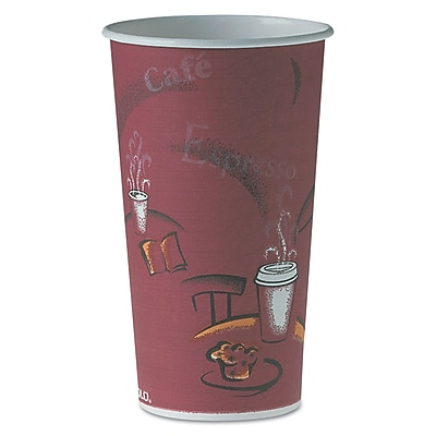 SOLO CUP COMPANY Polycoated Hot Paper Cups 1522650