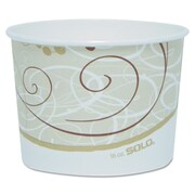 SOLO CUP COMPANY 16 Oz. Single Poly Paper Containers