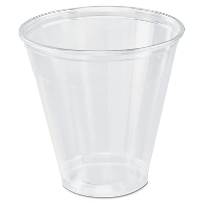 DART CONTAINER CORP Clear Plastic Cup 1524441