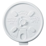 DART CONTAINER CORP Lift n' Lock Lids for Hot Cups,6 - 10 Oz.