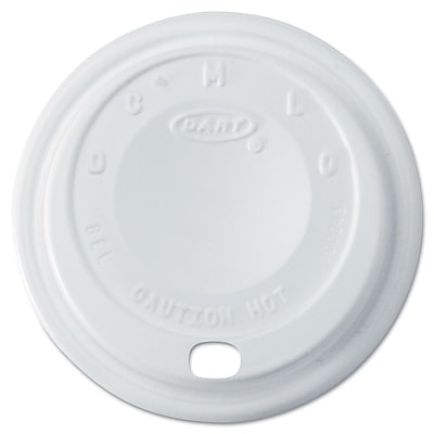 DART CONTAINER CORP Lids for Foam Cups 1524357