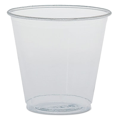 SOLO CUP COMPANY Plastic Sampling Cups 1522619