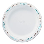 HUHTAMAKI FOODSERVICE Chinet Compstable Round Vines Plates, 8.75 inch  by