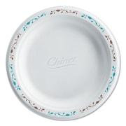 "HUHTAMAKI FOODSERVICE Chinet Compstable Round Vines Plates, 6"""