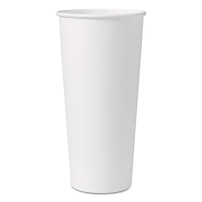 SOLO CUP COMPANY Single-Sided Poly Paper Hot Cups 1524410