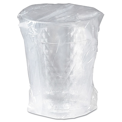 SOLO CUP COMPANY Tumbler Wrapped Plastic Polystyrene Cold Cups 1524131