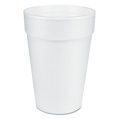 DART CONTAINER CORP Foam Drinking Cup 14 Oz. 1524590
