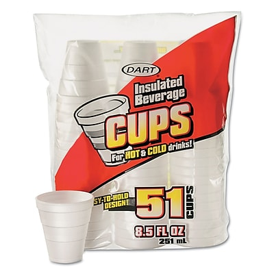 DART CONTAINER CORP Foam Cup 1524089