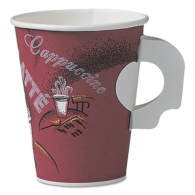 SOLO CUP COMPANY Bistro Paper Hot Cups With Handle 1524337
