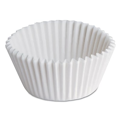 HOFFMASTER White Dry Waby Fluted Paper Bake Cup 1524203
