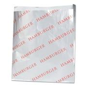 BAGCRAFT Hamburger Printed Foil Paper Bag
