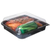ECO PRODUCTS Blue Stripe Containers