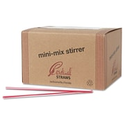 CARDINAL PRODUCTS Unwrapped Cocktail Straws