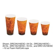 DART CONTAINER CORP Fusion Hot Coffee Cups, 24 oz.