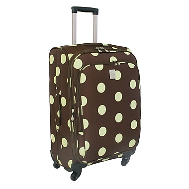 Jenni Chan Dots 360 Quattro 25'' Spinner Upright; Brown Green