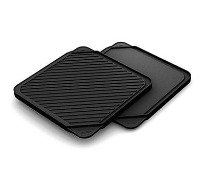 Chef's Design 11'' Non-Stick Reversible Grill Pan and Griddle WYF078277464873
