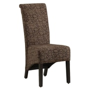 Monarch Specialties Inc. Kimberly Parsons Chair (Set of 2); Brown