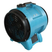 XPower 12'' Space-Saving High Velocity Floor Fan