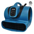 XPower Air Mover with GFCI Outlet for Daisy Chain