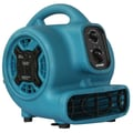 XPower Mini Air Mover with Daisy Chain and 3-Hour Timer