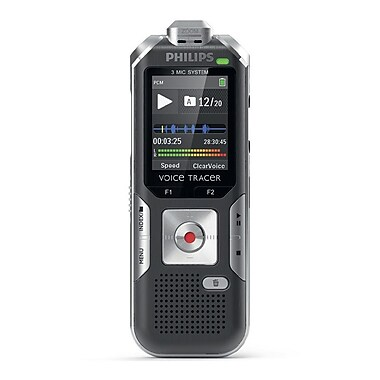 Philips DVT6500 Voice Tracer Digital Recorder with 3-Mic High Fidelity Recording