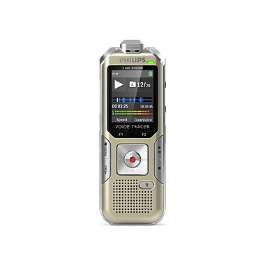 Philips DVT8000 Voice Tracer Meeting Recorder with 360-Recording