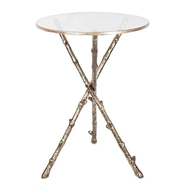 Cobistyle – Table à trépied, feuille d'or