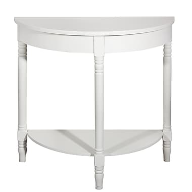 Home Details Side Table, Cream