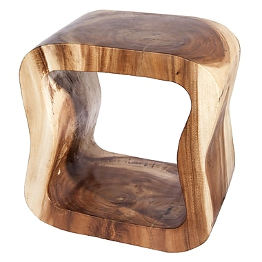 Steven & Chris Natural Hollow Apple Stool