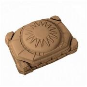 Step2 Naturally Playful 4' Rectangular Sandbox with Cover
