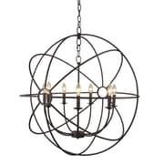 Yosemite Home Decor Constance 7 Light Chandelier; Rustic