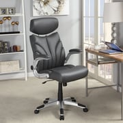 Wildon Home   High-Back Executive Office Chair with Arms