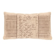 Heritage Lace Kitchen Inventory Pillow Cover
