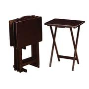 Wildon Home   Tray Table; Cappuccino