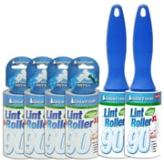 Household Essentials Cedar Fresh Lint Rollers with 4 Refill